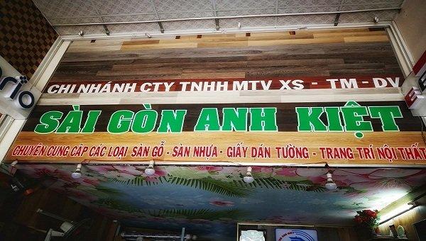 Sàn gỗ Sài Gòn Anh Kiệt