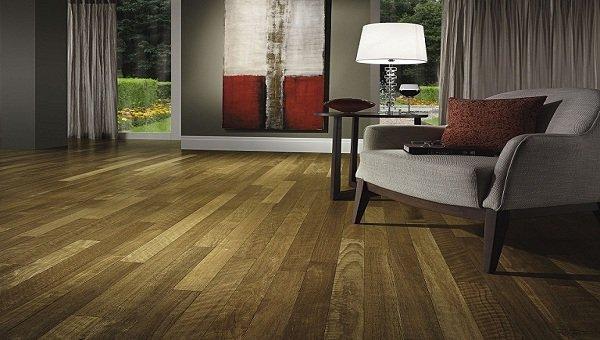 Sàn gỗ chịu lực phòng khách