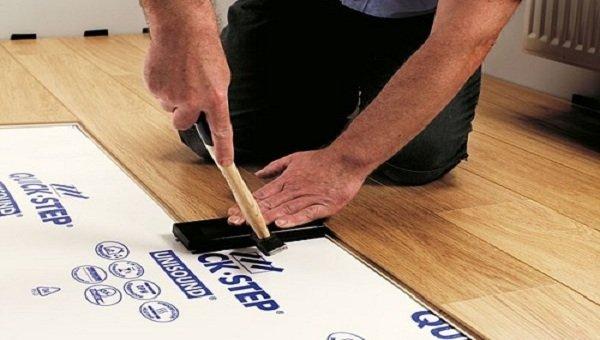 Quy trình lót sàn gỗ