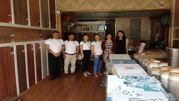 Công ty mẹ đến thăm đại lý Sài Gòn Anh Kiệt