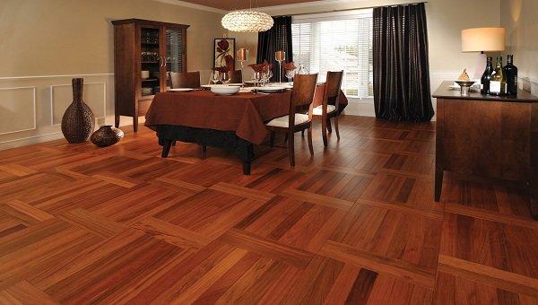 Mẫu sàn gỗ cao cấp