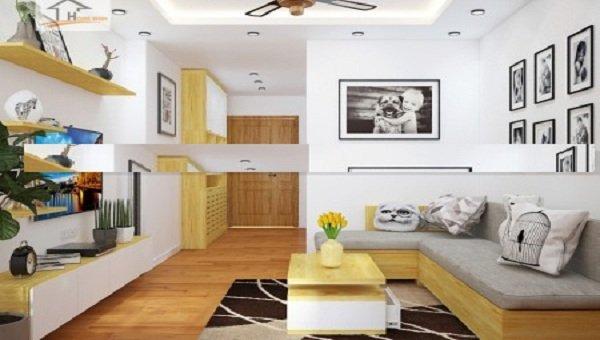Với sàn gỗ phòng sẽ đẹp hơn